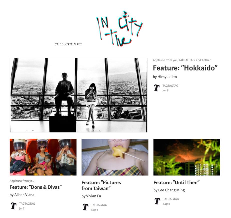 """Work: """"TTT: In TheCity"""""""